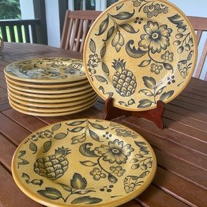 Vintage Villeroy & Boch Tropical Switch plates